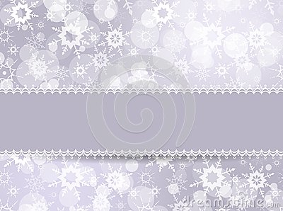 Template frame for Christmas card
