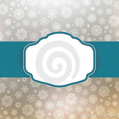 Template frame design for christmas card. EPS 8