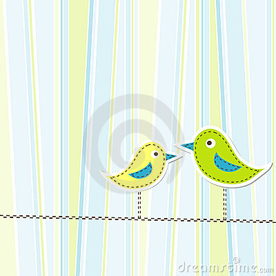Template greeting card,