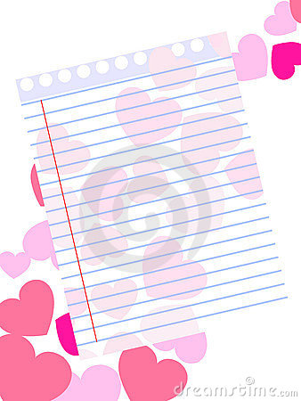 Template of a love card