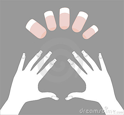 Template for nails art