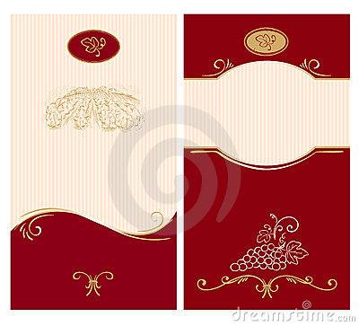 Template For Wine Labels Royalty Free Photography Image – Free Wine Label Design
