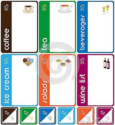 Free Templates Design Of Menu Stock Image - 13737201