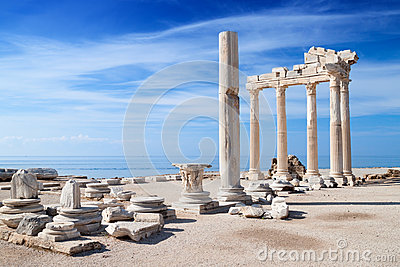 Temple of Apollo ruins