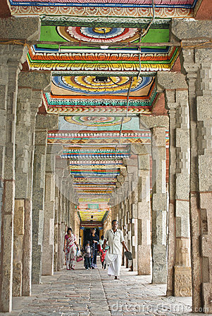 Temple architecture in South India
