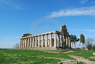 Temple of Athena in Paestum