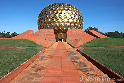 Temple in Auroville, India