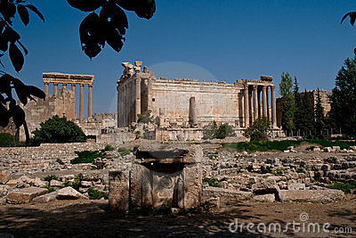 Temple of Bacchus, Baalbeck