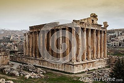 Temple of Bacchus, Baalbek