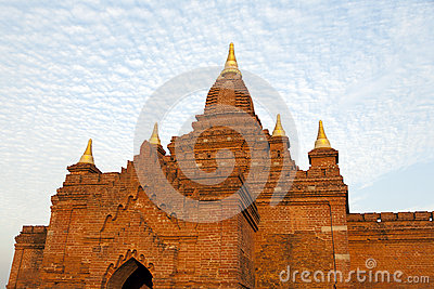 Bagan Temples with Dramatic Light