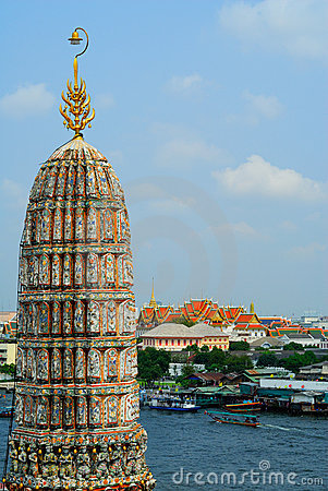 Temple in Bangkok Wat Arun, Thailand.