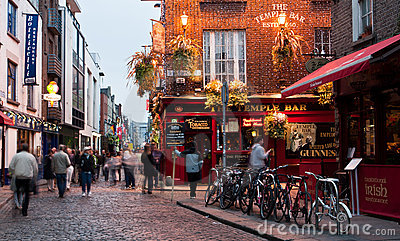 Temple Bar Editorial Photo