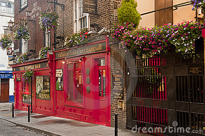 The Temple Bar Editorial Image