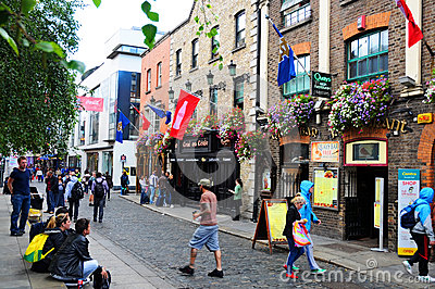 Temple bar Editorial Stock Photo