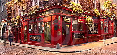 Temple Bar Pub Dublin Editorial Photography
