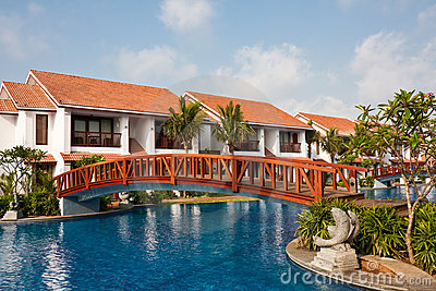 Temple Bay Resort in India