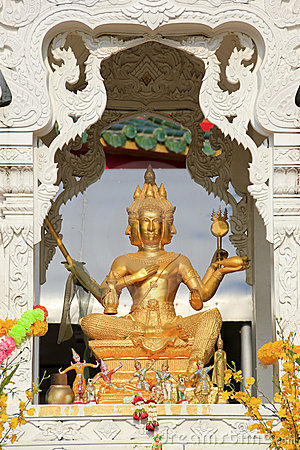 Temple buddha statue pattaya thailand