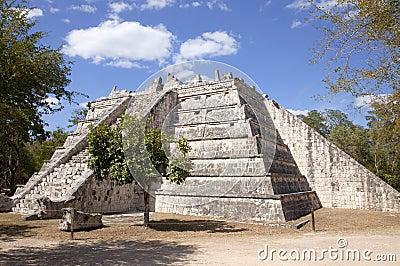 Temple at Chichen Itza