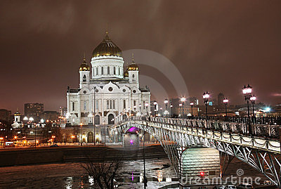 Temple of the Christ of the Savior in Moscow