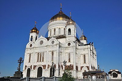 Temple of the Christ-savior. Moscow. Russia.