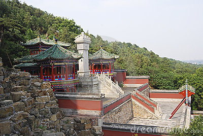 Temple complex, China