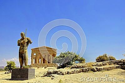 Temple of Concordia in Sicily