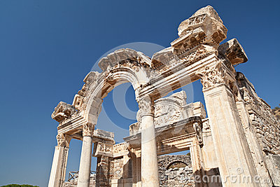 Temple D'Ephesus Photographie stock libre de droits - Image: 28028247