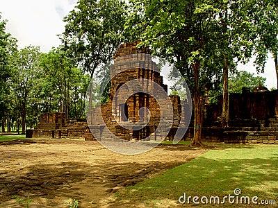 Temple de Khmer de Muang Singh