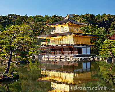 Temple de Kinkakuji