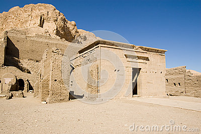 Temple de Ptolémée, EL Medina de Deir