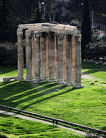 Temple de Zeus olympique