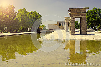 The Temple of Debod, Madrid