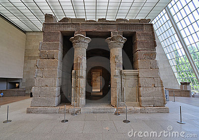 Temple of Dendur Editorial Photography