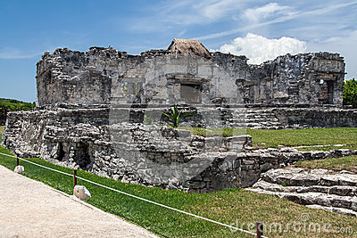 Temple of the Descending God Tulum Mexico
