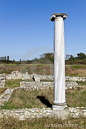 Temple of Dionysus at Dion, Greece