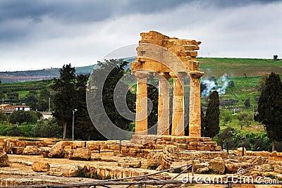 Temple of Dioscuri - Sicily