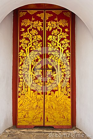 Temple Door Art