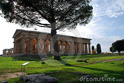 Temple du grec ancien