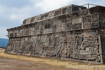 The Temple of the Feathered Serpent Xochicalco