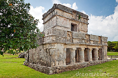 Temple of the Frescos in Tulum