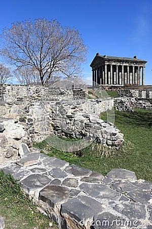 Temple Garni in spring