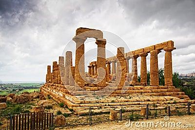 Temple of Giunone - Sicily