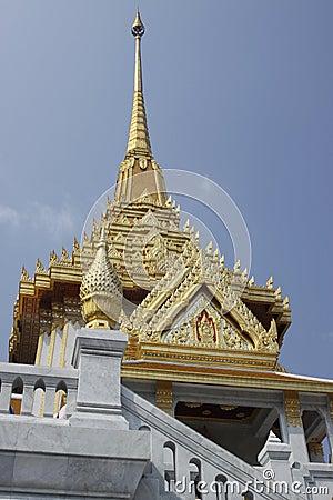 Temple of Golden Buddha in Bangkok