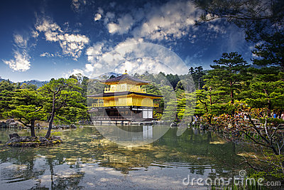 Temple of the Golden Pavillion, Japan