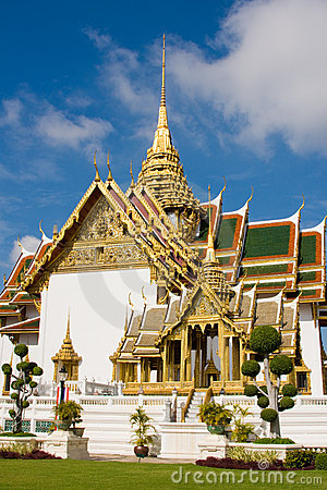 The temple in the Grand palace a