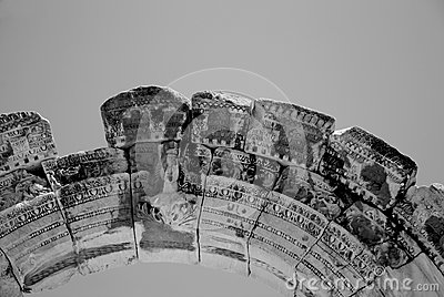 Temple of Hadrian, Ephesus, Turkey,