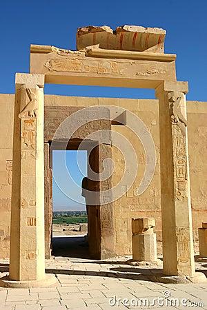 Temple of Hatshepsut. Egypt. West bank. Luxor