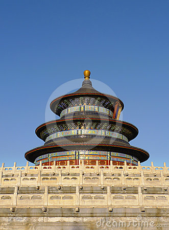Temple of Heaven in Beijing China