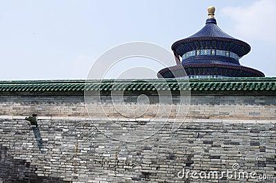 Temple of Heaven in Beijing China