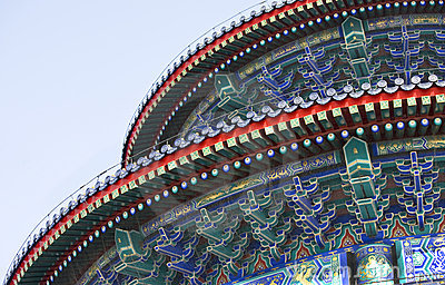 Temple of Heaven detail, Beijing China